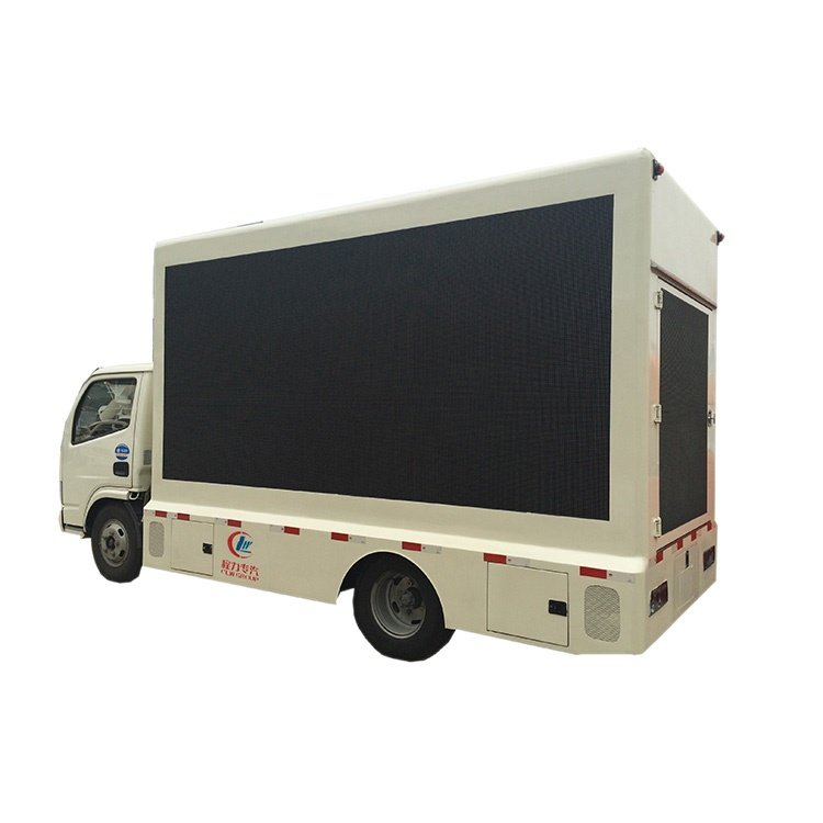 FOTON 108HP P8 Full Color Mobile LED Advertising Display Truck