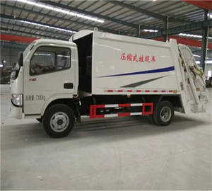 China Small Compression Garbage Capacity 10CBM Compactor Garbage Truck
