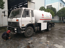 15cbm 15000Liters Lpg Bobtail Truck for Sale