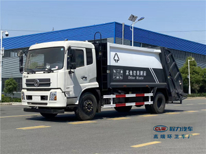 DONGFENG 4X2 8 Tons 10CBM Garbage Compactor Truck