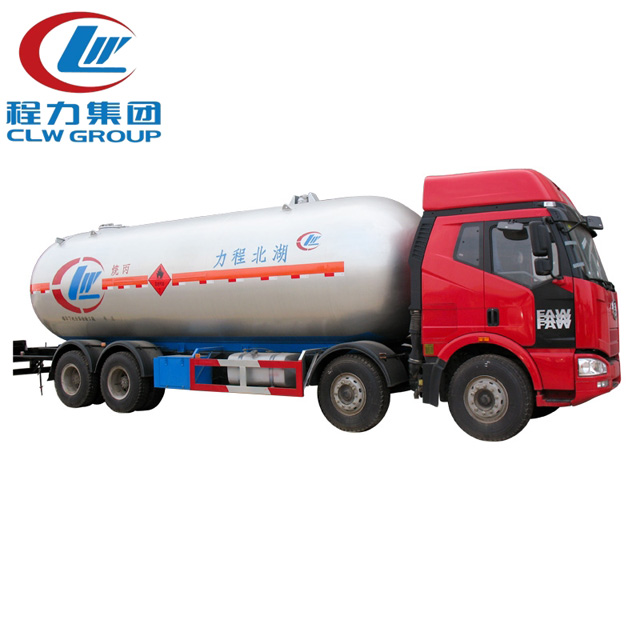 6 Wheels Fully Refrigerated Lpg Tanker Truck