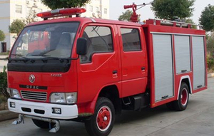 Dong Feng 4x2 1500L Water Tank And 500L Foam Tank Fire Fighting Truck