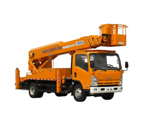 14 Meters Telescopic Type Aerial Platform Truck