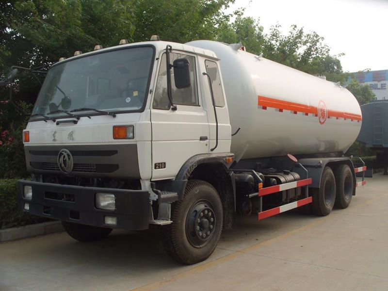 Dongfeng 10wheels 10MT Fully Pressurized LPG Propane Delivery Road Truck