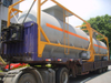 Standard chemical transport ISO 20ft/40ft tank container