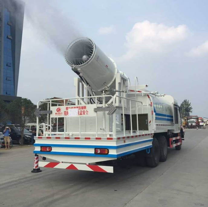 CLW Dust Suppressor Truck Strengthens Chinese Green Environment
