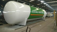 120 Cbm Liquid Ammonia Storage Tank for Nigeria