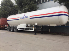 ASME 3 Axles York Brand Axle LPG Propane Tanker Semi Trailer