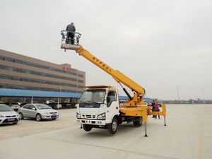 16 Meters Telescopic Type Aerial Platform Truck