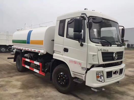 What is the working principle and structure of water tank truck