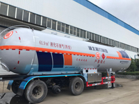 JOST Landing Legs with 3 BPW Axles 61,900 Liters LPG Tank Trailer
