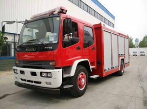 New Condition Japan Brand 6000liters Fire Fighting Truck