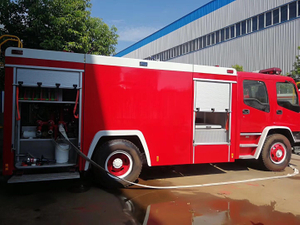 SINOTRUK HOWO New 4X2 Water Foam Fire Fighting Truck for Sale