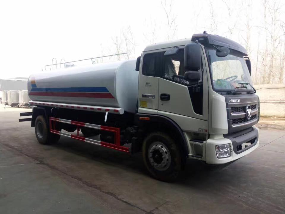 Foton 4X2 5L Water Tank Delivery Spaying Truck