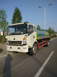 Howo 4x2 10m3 with Spray Bar Delivery Water Spraying Truck
