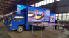 Mobile Truck Advertising LED Trailer Retail Display Video Screens