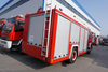Dongfeng 6 Wheel 6cbm Water Tank Fire Fighting Truck
