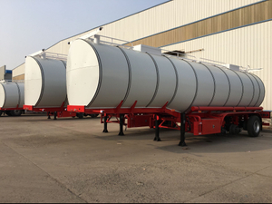 34cbm 34000liters 3 Axles Bitumen Tank Trailer for Sale