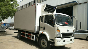 10ton howo 140hp 4*2 LHD refrigerated truck