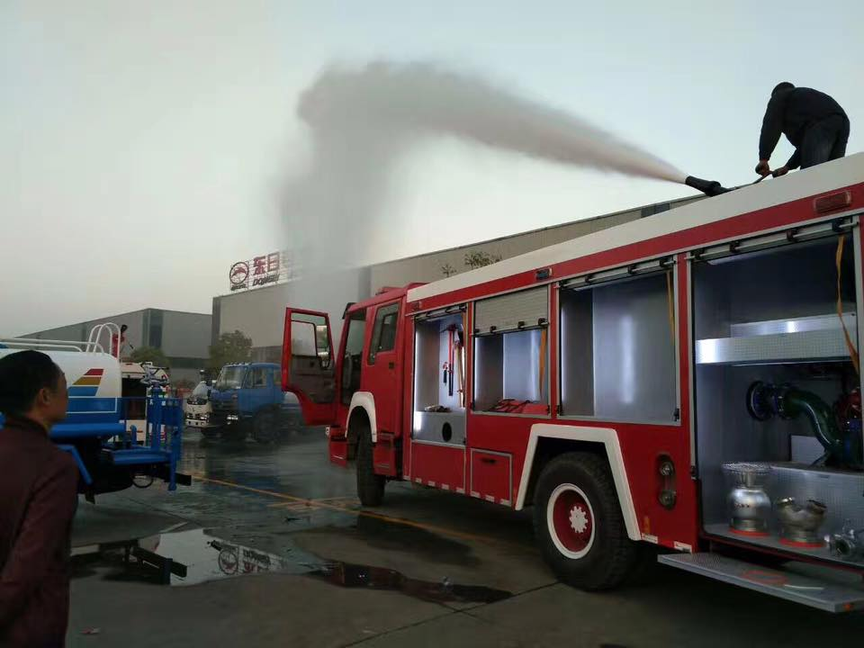 Factory Price Japan Brand 6000liters Water Fire Fighting Truck