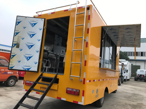 2019 New Design Mobile Street Snack Cart Ice Cream Food Truck for Sale